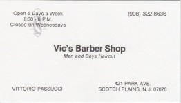 Vics Barber Shop